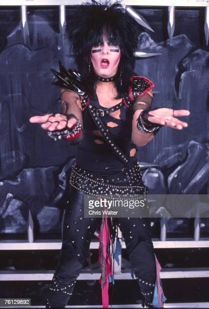 Motley Crue 1983 Nikki Sixx