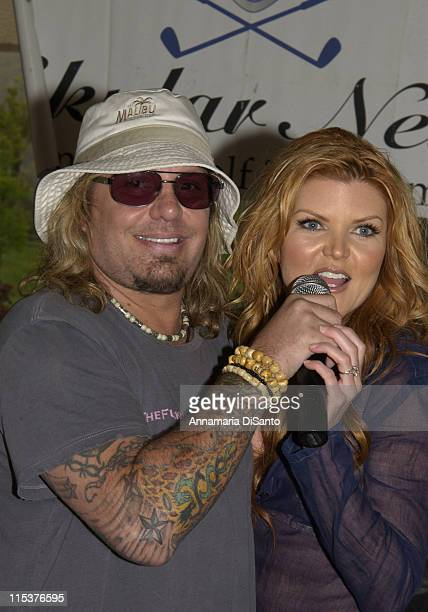 Motley Crue's Vince Neil and Tiffany from Playboy conduct exciting live auction for charity
