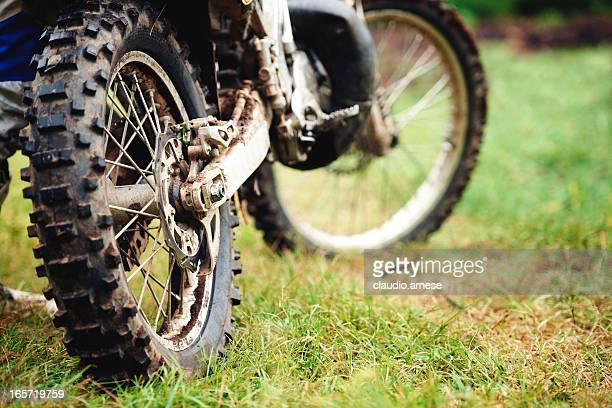 Motocross. Immagine a colori