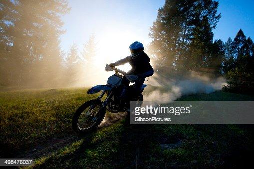 Motocross Dirt Bike Trail Rider