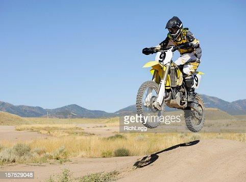 Motocross Motocycle Jump