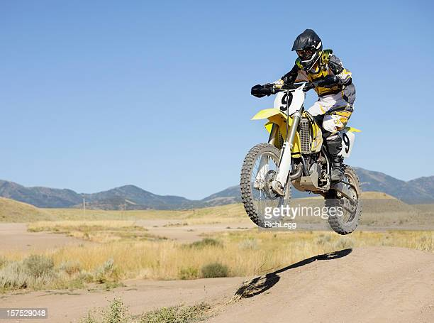 Motocross Motocycle Salto