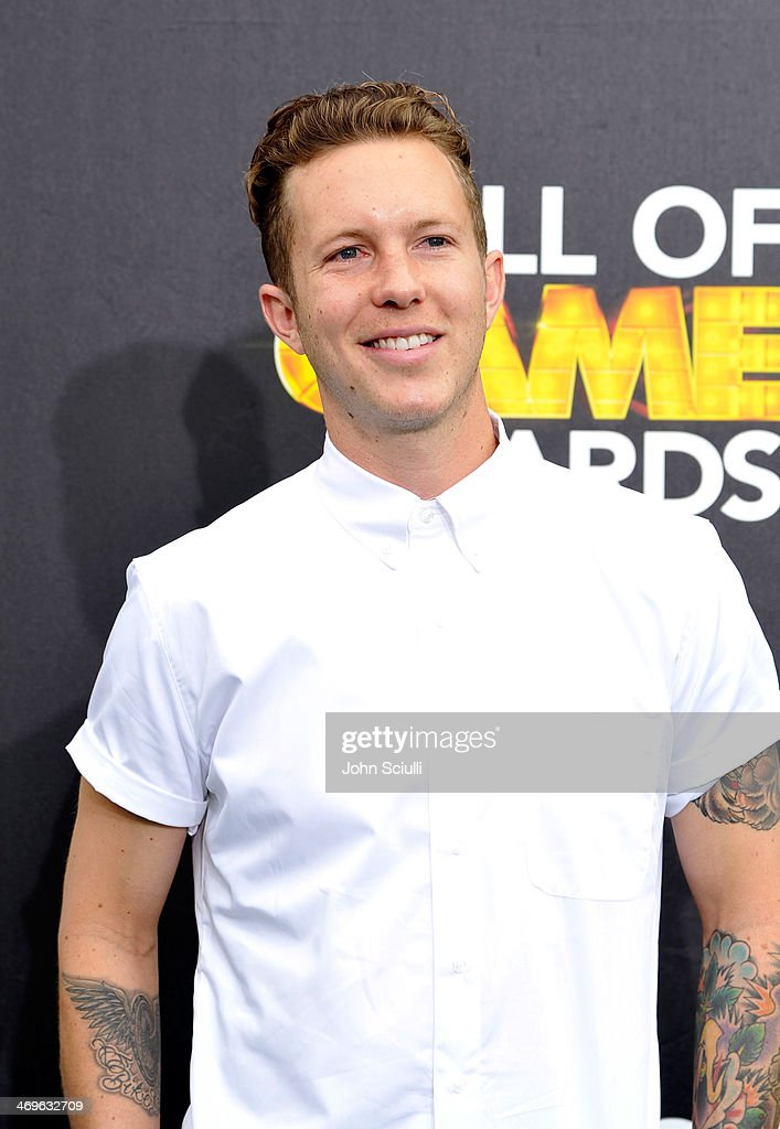 Motocross rider Lance Coury attends Cartoon Network's fourth annual Hall of Game Awards at Barker Hangar on February 15, 2014 in Santa Monica, California.