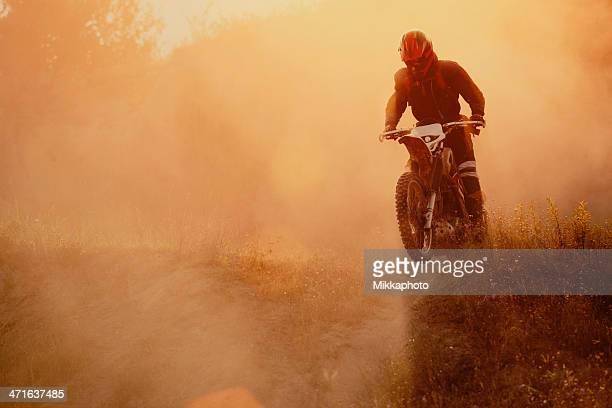 Motociclista di Motocross