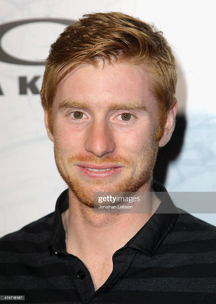 Motocross rider Ryan Villopoto celebrates the past, present and future of Oakley's design and technology at the brand's 'Disruptive by Design' global campaign launch event at RED Studios on February 24, 2014 in Los Angeles, California.