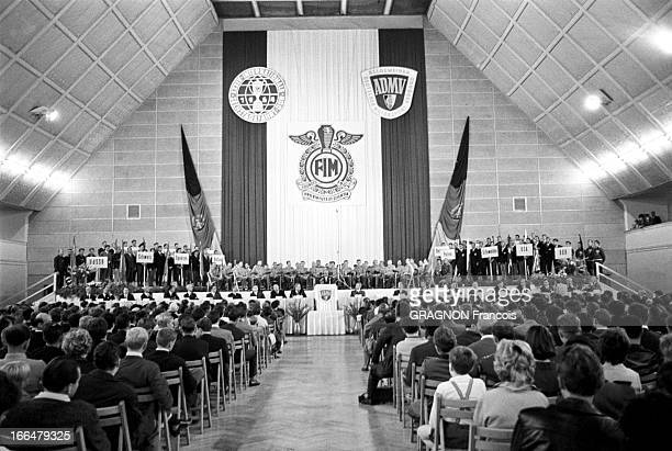 Motocross World Championship Steve Mac Queen To Participate In The Six Days Of Erfurt Erfurt Allemagne de l'Est 5 septembre 1964 Championnat du monde...