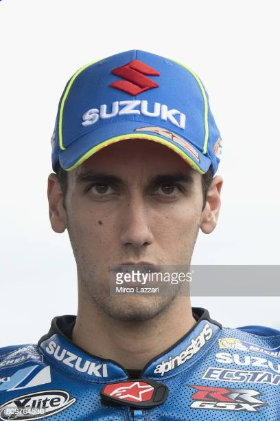MotoGP 2017 n 42 Alex Rins of Spain and Team Suzuki ECSTAR looks on at Sachsenring Circuit on July 5 2017 in in HohensteinErnstthal Germany
