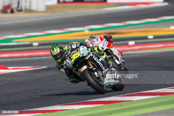 MotoGP Cal Crutchlow Lcr Honda Team during the MotoGp Grand Prix Monster Energy of Catalunya in BarcelonaCatalunya Circuit Barcelona on 11th June...