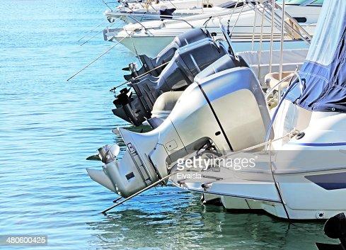 Motor boats : Stock Photo