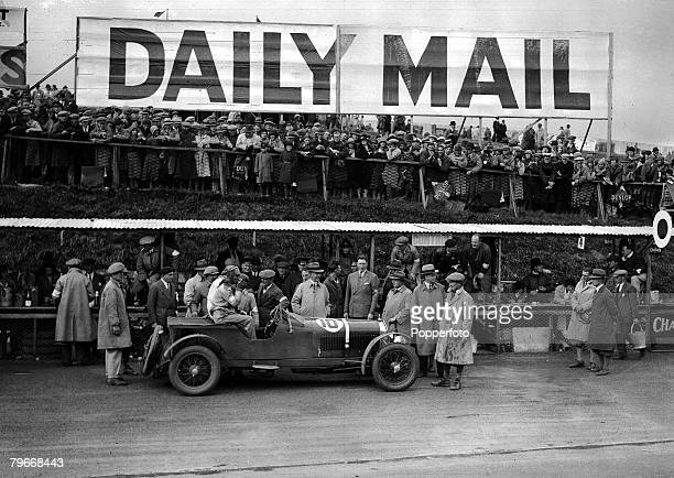 Motor Racing Belfast Northern Ireland 24th August Italian motor racing driver T Nuvolari relaxes with a drink after winning the International Tourist...