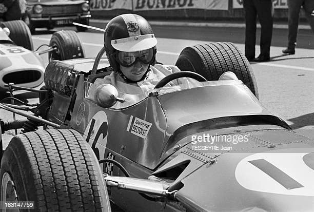 Pau Grand Prix 1967 En France à Pau en avril 1967 lors du Grand Prix de Pau faisant partie du Championnat de France de formule 2 Sur le circuit...