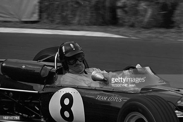 Pau Grand Prix 1967 En France à Pau en avril 1967 lors du Grand Prix de Pau faisant partie du Championnat de France de formule 2 Su un circuit un...