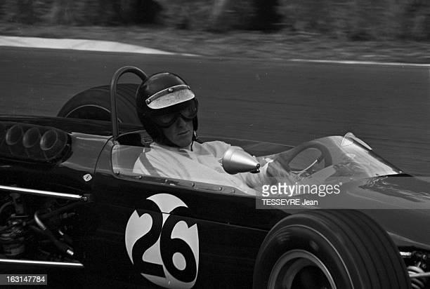 Pau Grand Prix 1967 En France à Pau en avril 1967 lors du Grand Prix de Pau faisant partie du Championnat de France de formule 2 Sur le circuit Le...