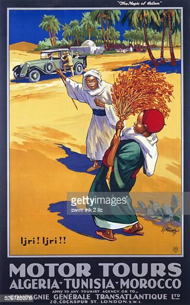 Algeria Tunisia Morocco Poster
