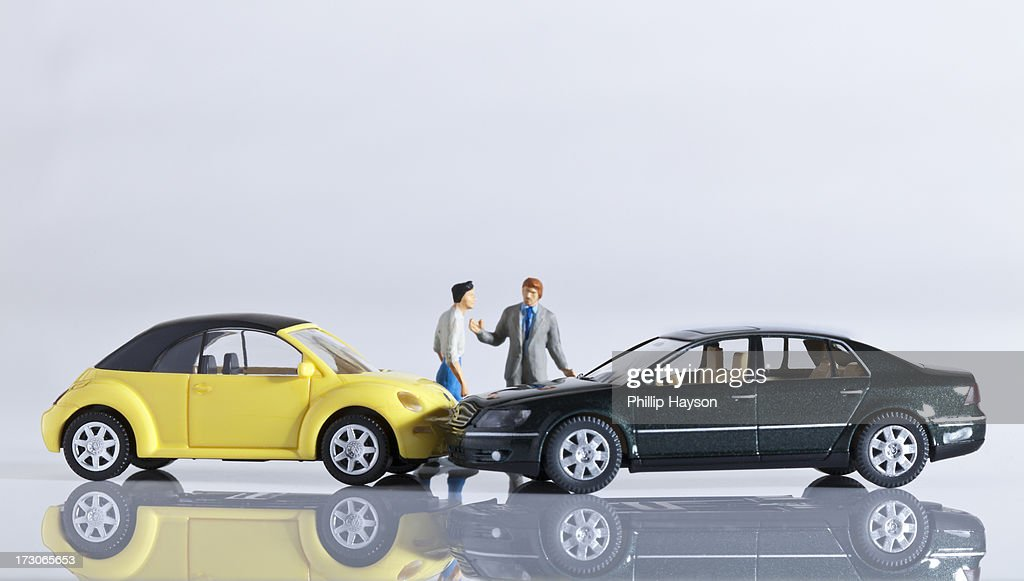 Motor Vehicle accident : Stock Photo