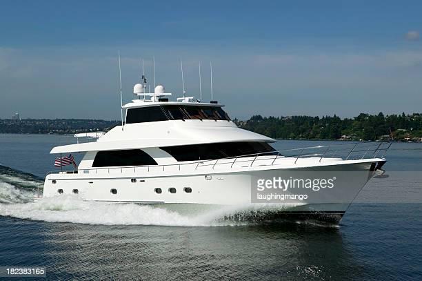 motor yacht Luxus