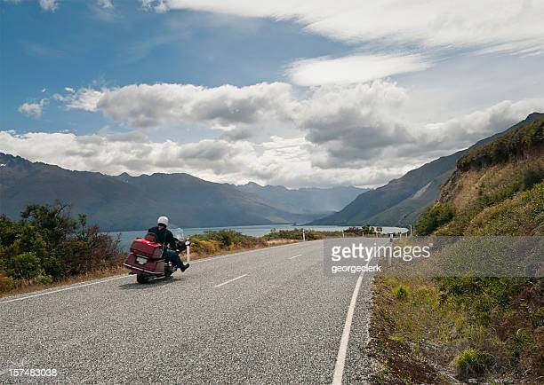 Pilote de moto de la Liberté