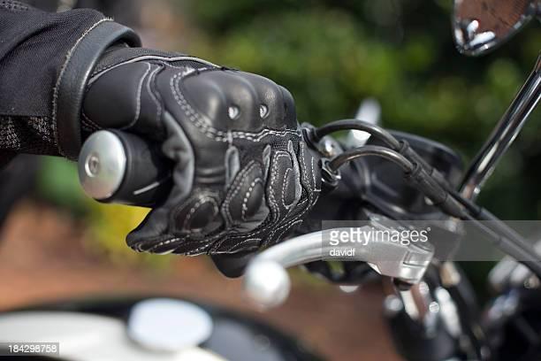 Motorrad Griffigkeit