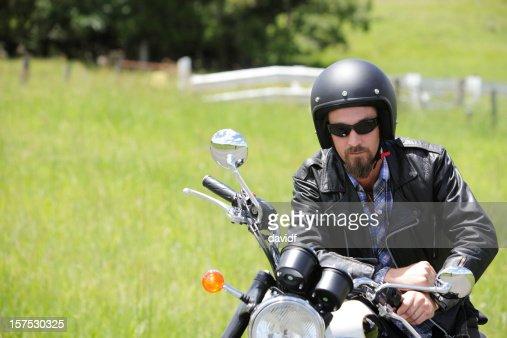 Motorrad-Fahrer