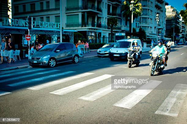 Motorbikes in Nice, France