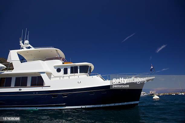 Motorboot ankern auf Catalina Island