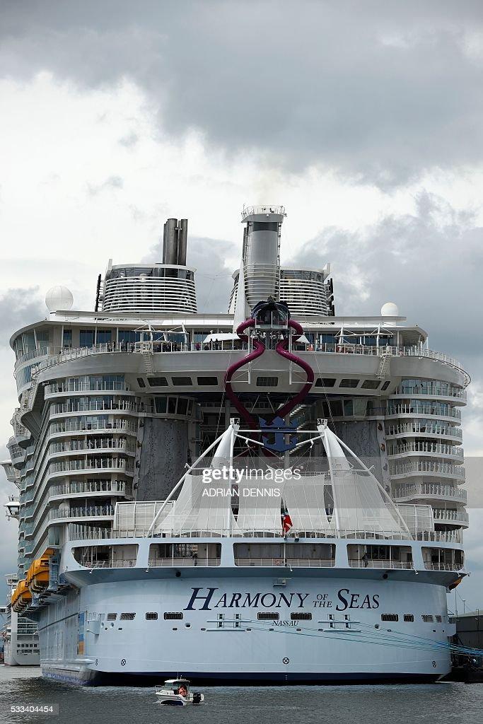 World39s Largest Cruise Ship Harmony Of The Seas Sets