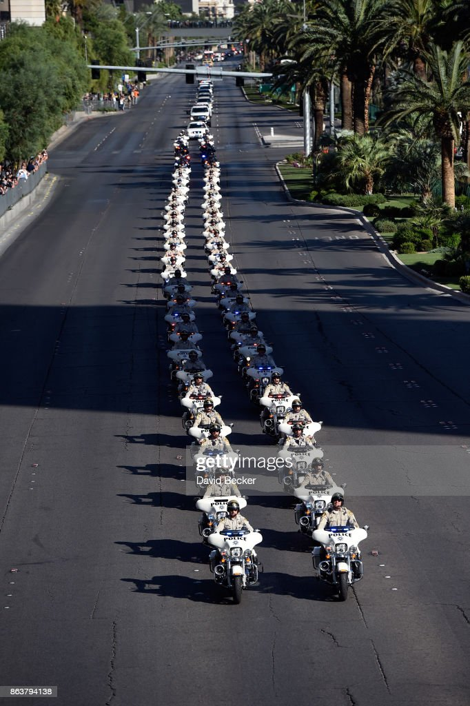 Funeral Held For Las Vegas Police Officer Killed In Shooting Massacre