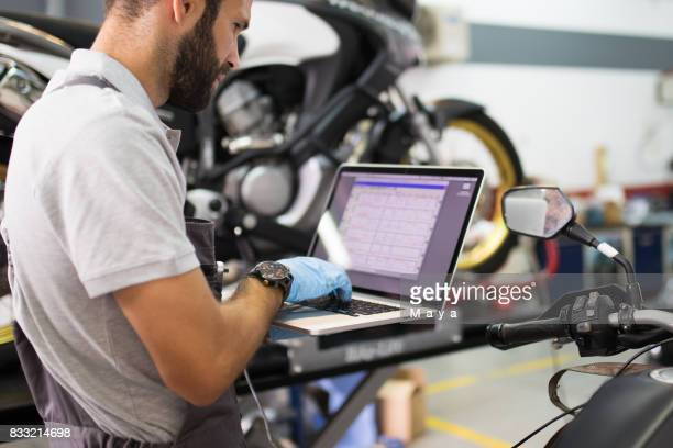 Motorcycle diagnostic