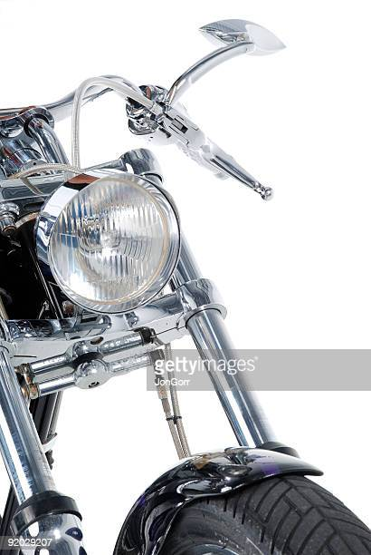 Embranchement 2 de la moto sur le devant