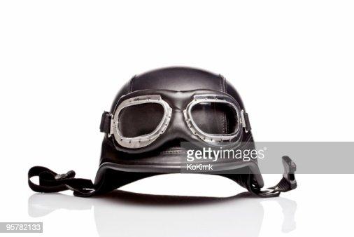 US ARMY motorcycle helmet : Stock Photo