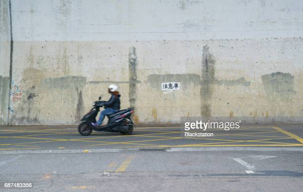 motorcycle in Taipei