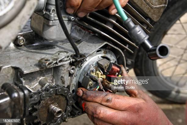 Motorrad-Mechaniker