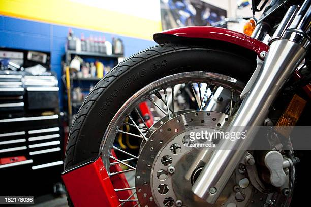 motorcycle mechanic shop
