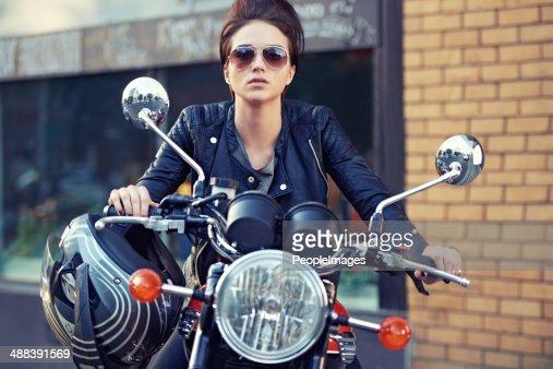 Motorrad-Stil