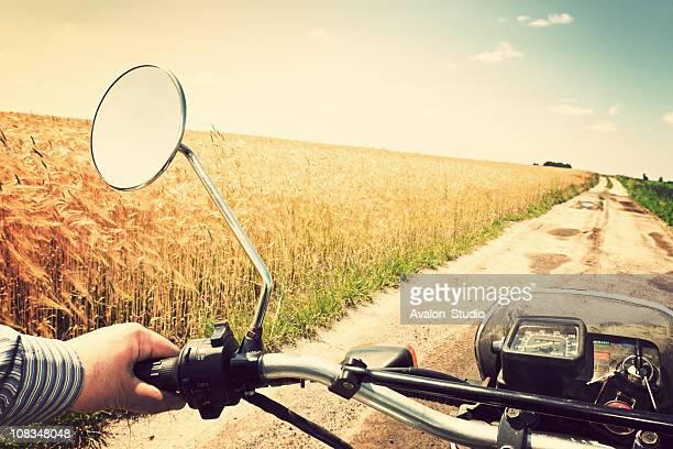 Visite de moto