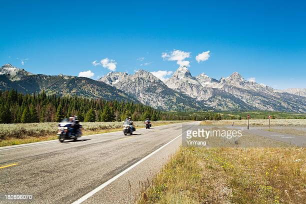 Motorcycle Touring of the Grand Teton National Park
