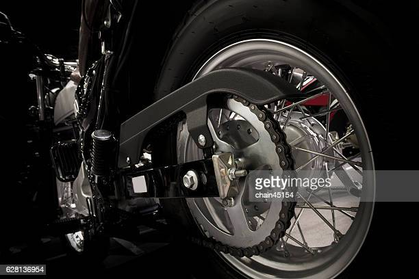 Motorcycle type big bike with Close up