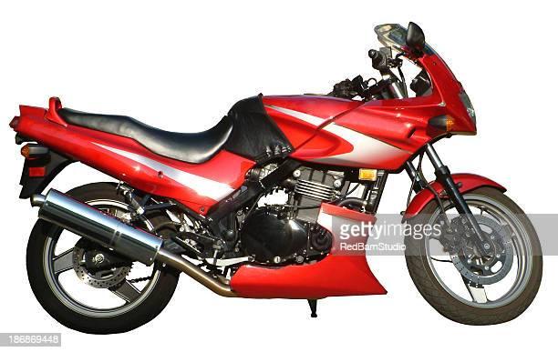 Motorrad mit Path