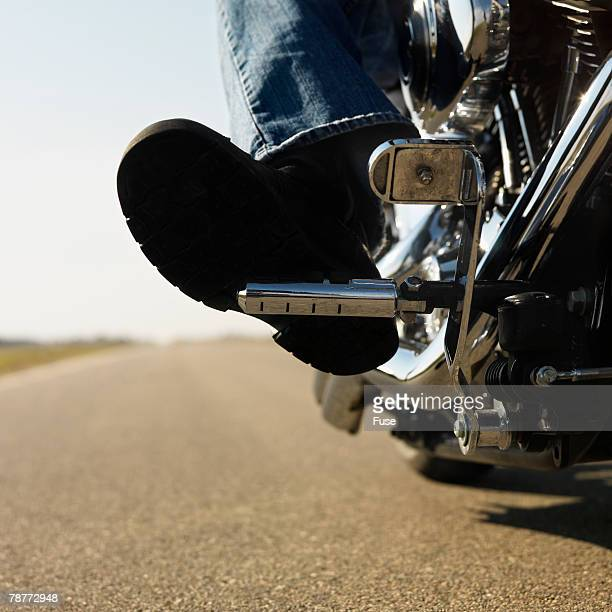 Motorcyclist on the Open Road