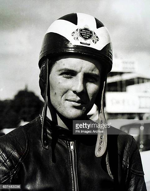Motorcyclist Phil Read in 1960