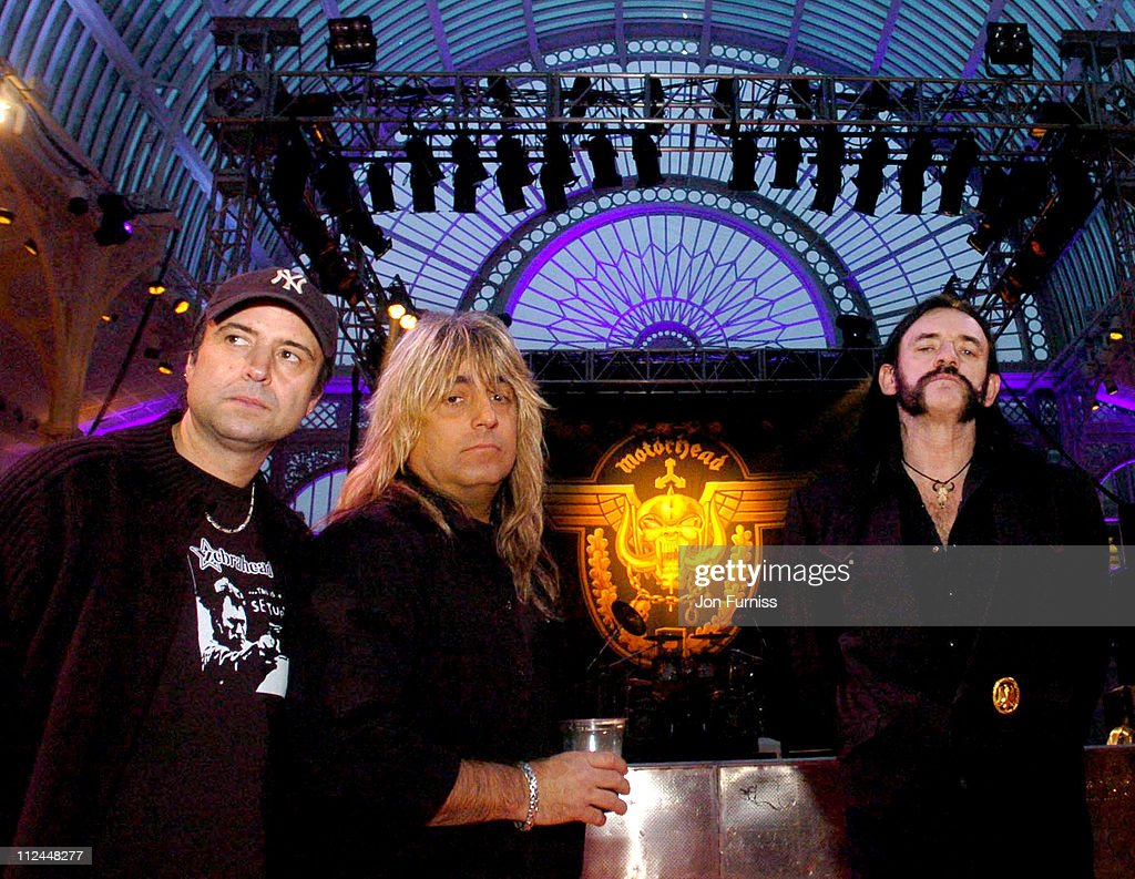 """Motorhead """"A Night At The Opera"""" -  Soundcheck and Photocall"""