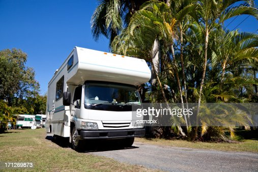 Caravan Park Australia Stock Photos And Pictures