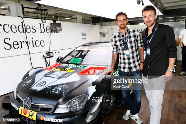 Motorsports / DTM 10 race Hockenheim Martin Harnik Christian Gentner