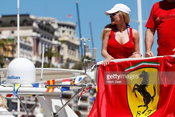 FIA Formula One World Championship 2013 Grand Prix of Monaco Fans on yacht