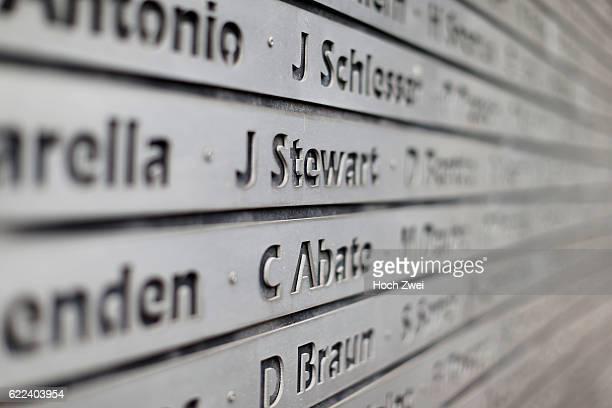 FIA Formula One World Championship 2013 Grand Prix of Germany Wall of Fame