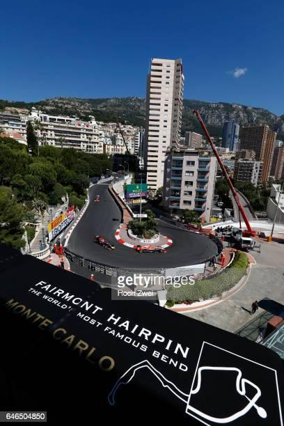 FIA Formula One World Championship 2014 Grand Prix of Monaco #17 Jules Bianchi #1 Sebastian Vettel