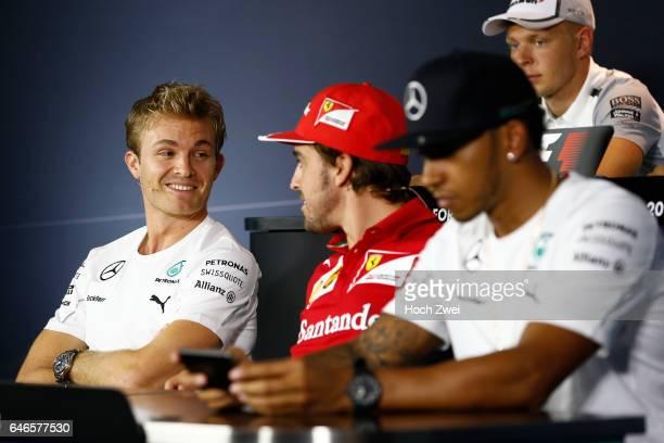 FIA Formula One World Championship 2014 Grand Prix of Italy #6 Nico Rosberg #14 Fernando Alonso #44 Lewis Hamilton