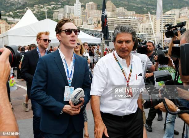 FIA Formula One World Championship 2014 Grand Prix of Monaco Benedict Cumberbatch