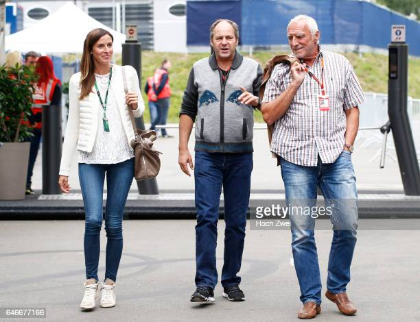 FIA Formula One World Championship 2015 Grand Prix of Austria Gerhard Berger Dietrich 'Didi' Mateschitz