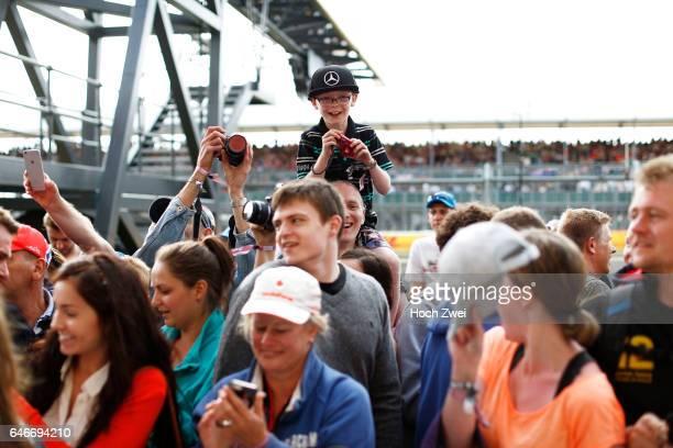 FIA Formula One World Championship 2015 Grand Prix of Great Britain fans